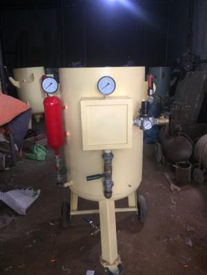Máy phun cát ướt và khô DT-250 giá rẻ