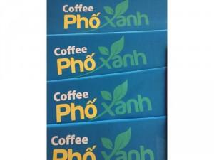 Dù cafe nhận in logo