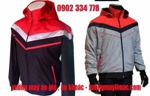 chuyên nhận may và cung cấp áo khoác, áo gió, nhận hợp đồng may áo khoác gió theo yêu cầu