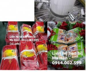 Túi gạo 5kg quai xách đỏ xuất khẩu GANA