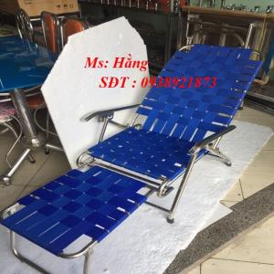 Ghế gường bố INOX xếp gọn-MQ51D