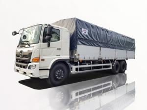 xe tải hino 15 tấn thùng bạt
