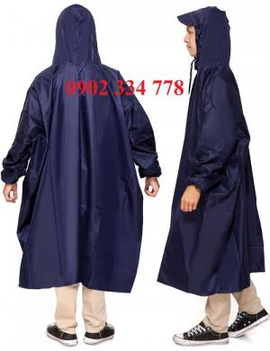 cơ sở sản xuất áo mưa bít hông vải nhựa giá siêu rẽ