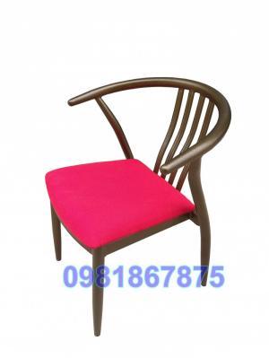 Ghế cafe wishbone sắt - Chair Wishbone iron