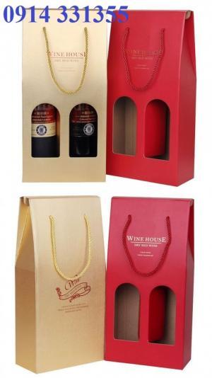 in hộp rượu đẹp, thiết kế miên xphis, giá cạnh tranh