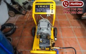 Máy rửa xe công nghiệp cao áp Urali công nghệ Châu Âu