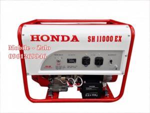 Máy phát điện Honda SH11000EX công suất 10kw đề nổ Le gió tự động