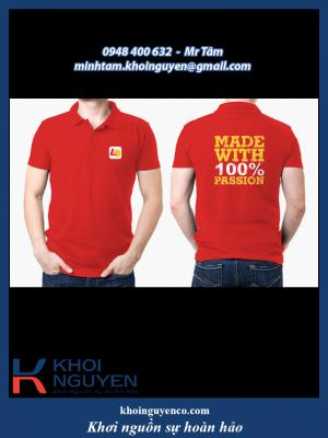 Đồng phục công ty - áo cá sấu công ty - áo polo - áo công nhân - đồ bảo hộ lao động