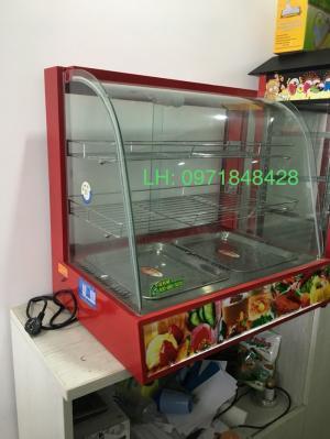 Tủ trưng bày giữ nhiệt, tủ giữ nhiệt thực phẩm, tủ giữ nhiệt gà quay vịt quay