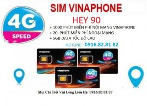 Sim Vinaphone Hey90 tiết kiệm chi phí cho bạn