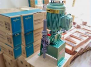 Bán bơm định lượng hóa chất Nikkiso AHA 11 PVC