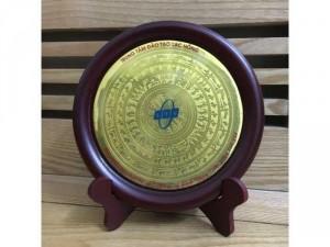 Mặt trống đồng Đông Sơn, hoa văn Việt cổ sao y bản trống cổ, trưng bày đẹp, mới 100%
