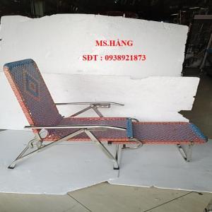 Giường ghế bố XẾP INOX -GB1746