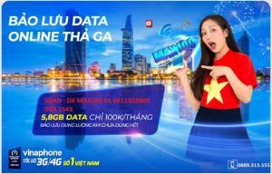 Sim 3G/4G vinaphone sài thỏa ga