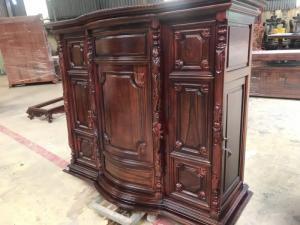 Tủ thờ gỗ cẩm lai đẹp giá rẻ