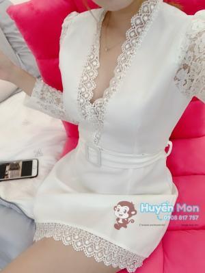 Đầm Viền Ren