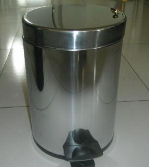 Thùng đựng rác inox đạp chân dùng trong bệnh viện , khách sạn