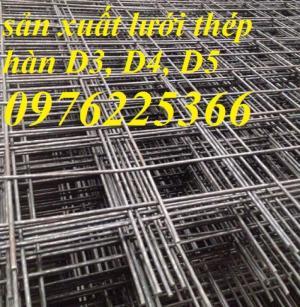 Lưới thép đổ bê tông dây 4ly mắt lưới D4a100*100,D4a150*150