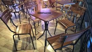 Bộ bàn ghế cafe sân vườn,bộ bàn ghế fanxifan