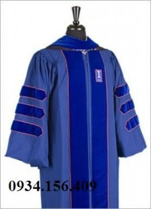 ổ cắt may lễ phục tốt nghiệp cho học sinh sinh viên