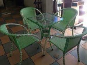 bàn ghế cafe hgh012