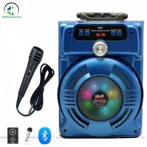 Loa bluetooth karaoke JHW802 loa karaoke mini giá rẻ