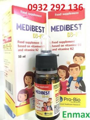 Medibest D3 k2 giúp tăng chuyển hóa canxi trong cơ thể