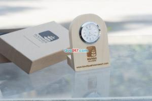 Quà gỗ để bàn xinh xắn - in ấn logo theo yêu cầu