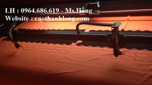 Hướng dẫn sử dụng Máy laser cắt vải 2 đầu 1610 ngành may