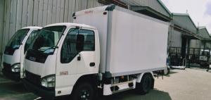xe tải isuzu qkr230 1 tấn thùng bảo ôn đời...