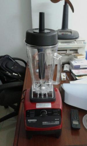 Máy xay sinh tố công nghiệp Nhật Bản Oshika chuyên dùng cho quán cafe