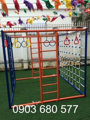 Thang leo mầm non cho trẻ vui chơi vận động an toàn giá rẻ