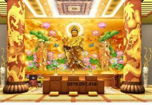 Gạch tranh 3d Đức Phật
