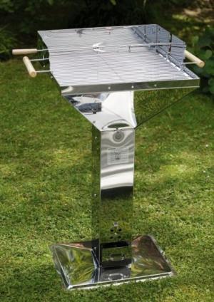 Bếp nướng ngoài trời, bếp nướng sân vườn Landmann 11282 inox cao cấp