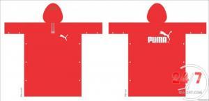 Áo mưa in logo theo yêu cầu