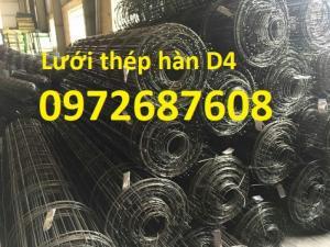 Lưới thép hàn D4 a50x50, a100x100, a150x150, a200x200