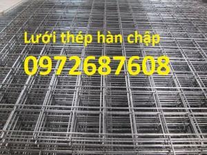 Lưới thép hàn D3, D4, D5, D6, D7, D8....Hàng có sẵn và sản xuất theo yêu cầu