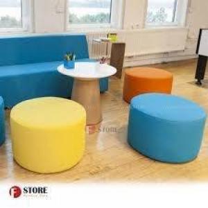 Ghế đôn, ghế sofa đôn, ghế đôn tròn, ghế đôn lục giác, ghế đôn chân gỗ,