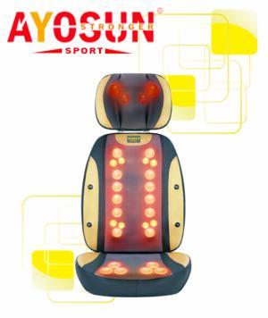 Ghế massage hồng ngoại 30 bi 4D Ayosun Hàn Quốc bảo hành 5 năm
