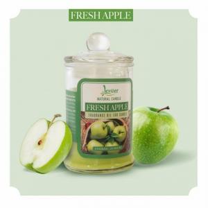 Nến thơm ly thủy tinh cao cấp Leviter tinh dầu táo xanh