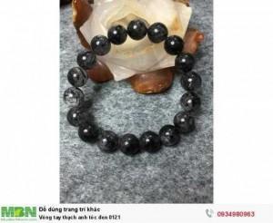 Vòng tay thạch anh tóc đen 0121
