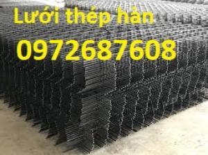Lưới thép hàn đổ bê tông, lưới thép đổ sàn phi3, phi4, phi5, phi6 hàng có sẵn và sản xuất theo yêu cầu