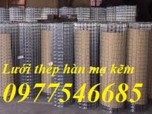 Lưới thép hàn D3a50*50 mạ kẽm Tại Hà Nội