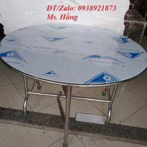 Bàn Inox 304 xếp III - 1,2M -BXIII12323