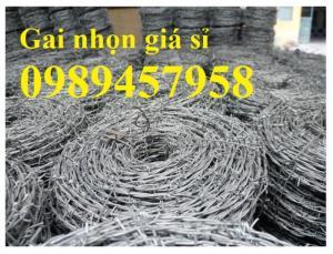 Dây thép gai Nam Định, Dây thép gai mạ kẽm