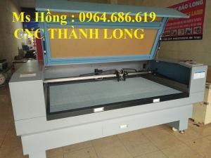 Máy cắt vải laser 1610, máy laser 2 đầu cắt vải giá rẻ ở đâu Hà Nội