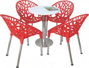 bàn ghế cafe táo hoa văn rẻ nhất