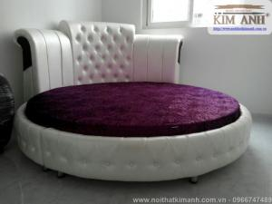 Bán giường ngủ hình tròn giá rẻ tại tphcm, bình dương