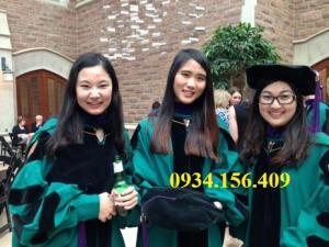 May áo lễ phục tốt nghiệp thạc sĩ tiến sĩ giá rẻ