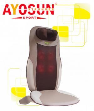 Ghế đệm massage toàn thân 8 bi hồng ngoại Ayosun Hàn Quốc bảo hành 5 năm